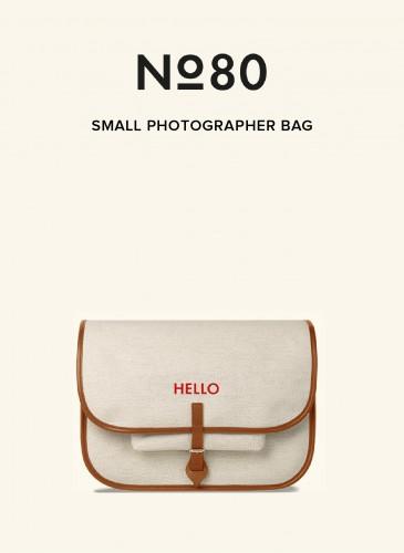 LUNIFORM No°80米色小型攝影包,NT$36,500。