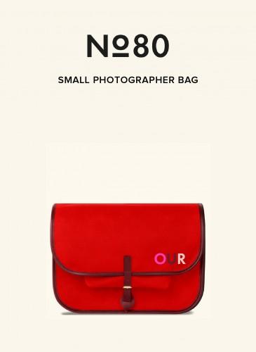 LUNIFORM No°80紅色小型攝影包,NT$36,500。-1