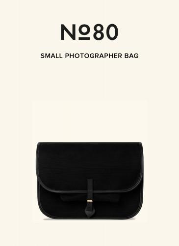 LUNIFORM No°80黑色小型攝影包,NT$36,500。-1