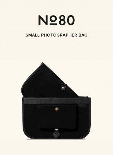 LUNIFORM No°80黑色小型攝影包,NT$36,500。-2