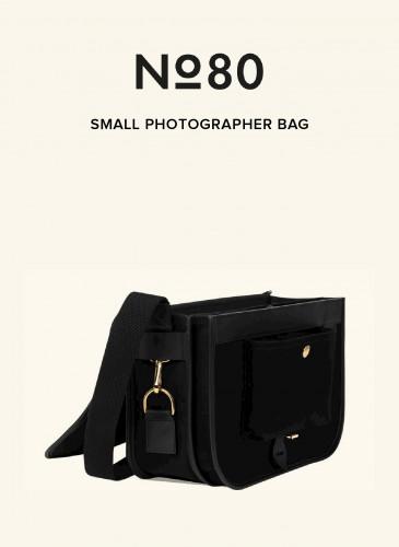 LUNIFORM No°80黑色小型攝影包,NT$36,500。-3