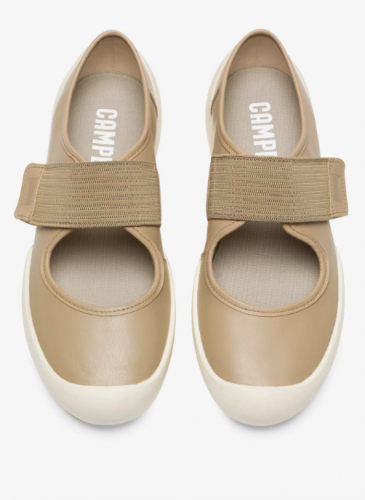 CAMPER 2020春夏全新款Sako棕色開放式套穿鞋,NT$6,980。(女鞋)3