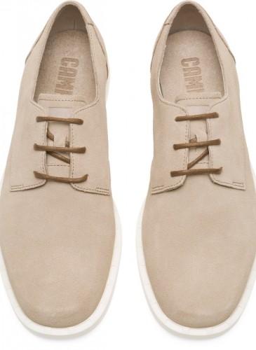CAMPER Judd系列駝色麂皮休閒皮鞋,NT$7,280。(男鞋)-1