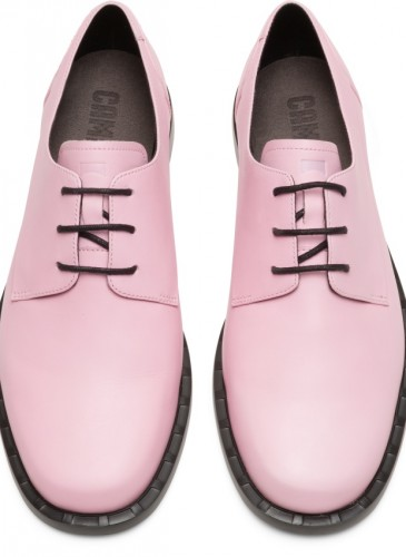 CAMPER Juddie系列粉紅色休閒皮鞋,NT$7,280。(女鞋)-1