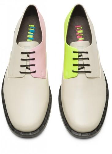 CAMPER Juddie Twins系列拼色休閒皮鞋,NT$7,280。(女鞋)-1