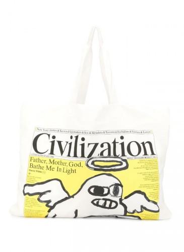 JUNYA WATANABE MAN Civilization Edition Issue 1 Vol. 1托特包,NT$8,800。(團團選品)