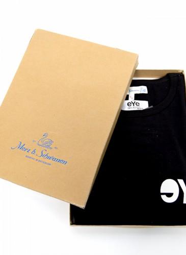 JUNYA WATANABE MAN X MERZ B. SCHWANEN EYE LOGO黑T-shirt,NT$8,800。(團團選品)-2