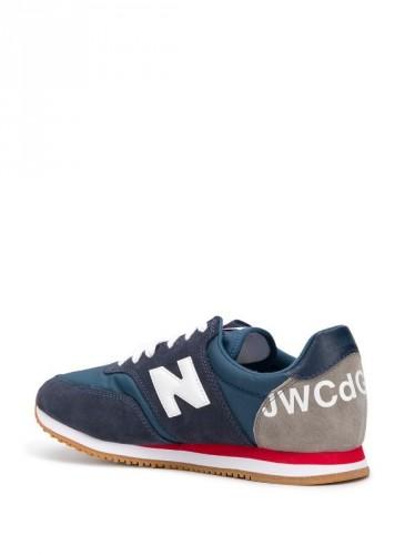 Junya Watanabe Man X New Balance Comp 100深藍配色休閒鞋,NT11,800。(團團選品)-2