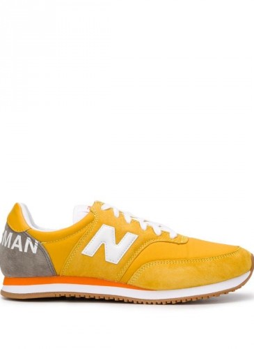 Junya Watanabe Man X New Balance Comp 100黃灰配色休閒鞋,NT11,800。(團團)-1