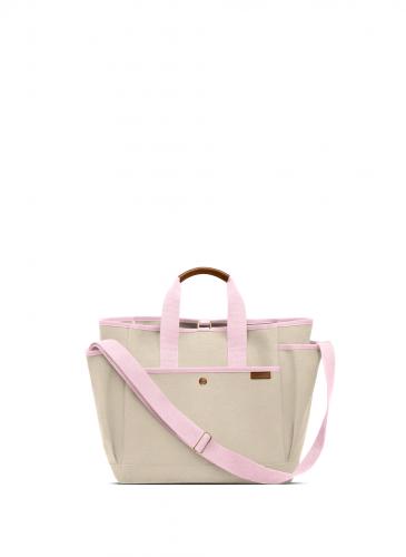 LUNIFORM N°3 米色+粉紅色工具包,NT$38,800。(正面)