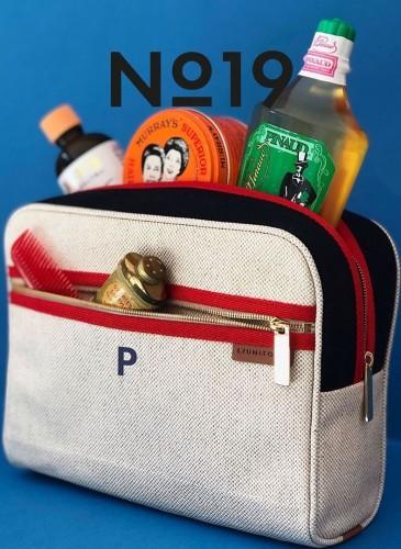 LUNIFORM No°19盥洗包,NT$16,000。-形象