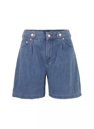 Mother of Pearl牛仔短褲,NT$11,200。(團團選品)