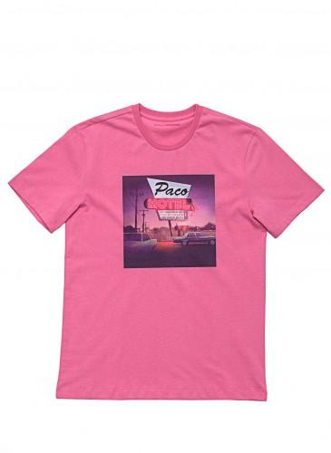 SACAI轉印圖像T恤,NT$7,800。(團團選品)