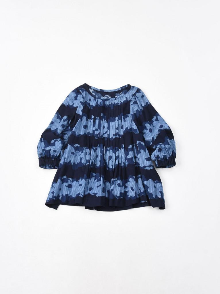 45R淺藍色直紋印花上衣,NT$21,200。