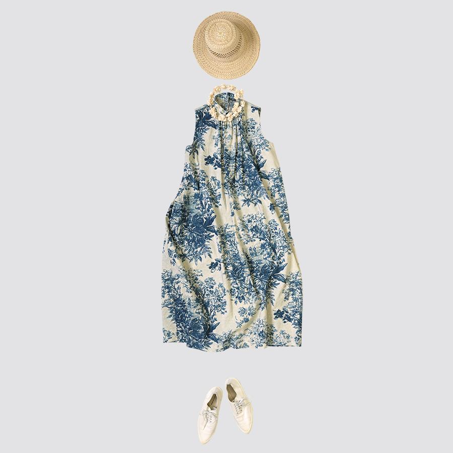 45R設計師-井上保美Yasumi的春夏豐富印花穿搭提案。-2