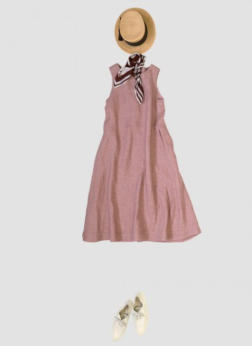 45R設計師-井上保美Yasumi的春夏Bandana穿搭提案。-4
