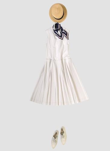 45R設計師-井上保美Yasumi的春夏Bandana穿搭提案。-6