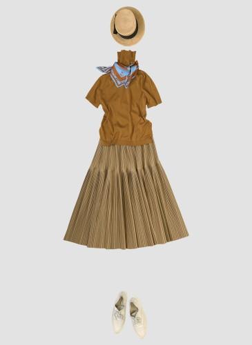 45R設計師-井上保美Yasumi的春夏Bandana穿搭提案。-7