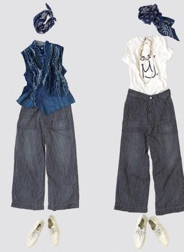 45R設計師-井上保美Yasumi的春季T恤穿搭提案。-4