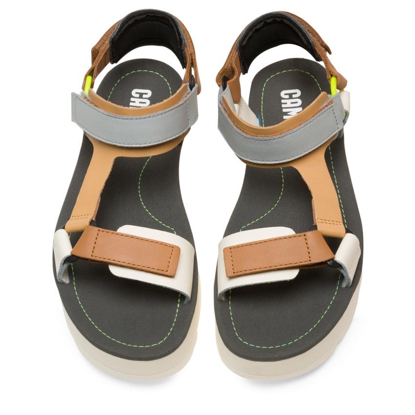 CAMPER彩色拼接橫帶Oruga Sandal,NT$6,180。-1