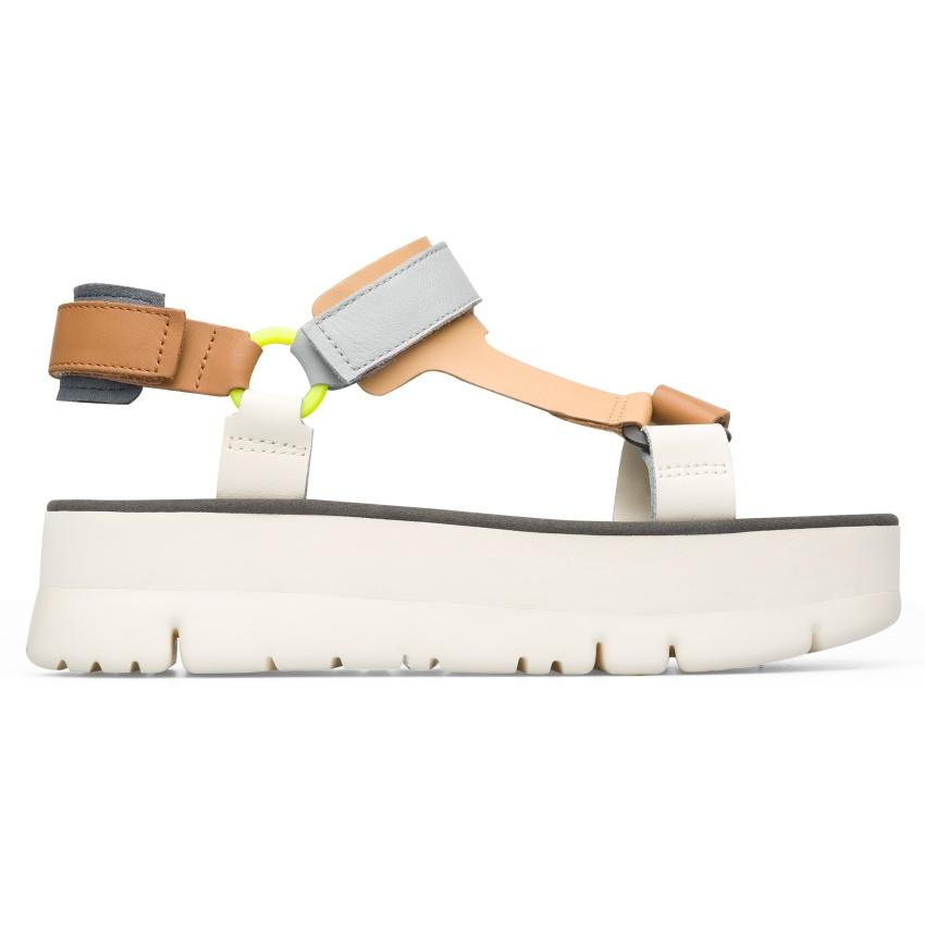 CAMPER彩色拼接橫帶Oruga Sandal,NT$6,180。-3