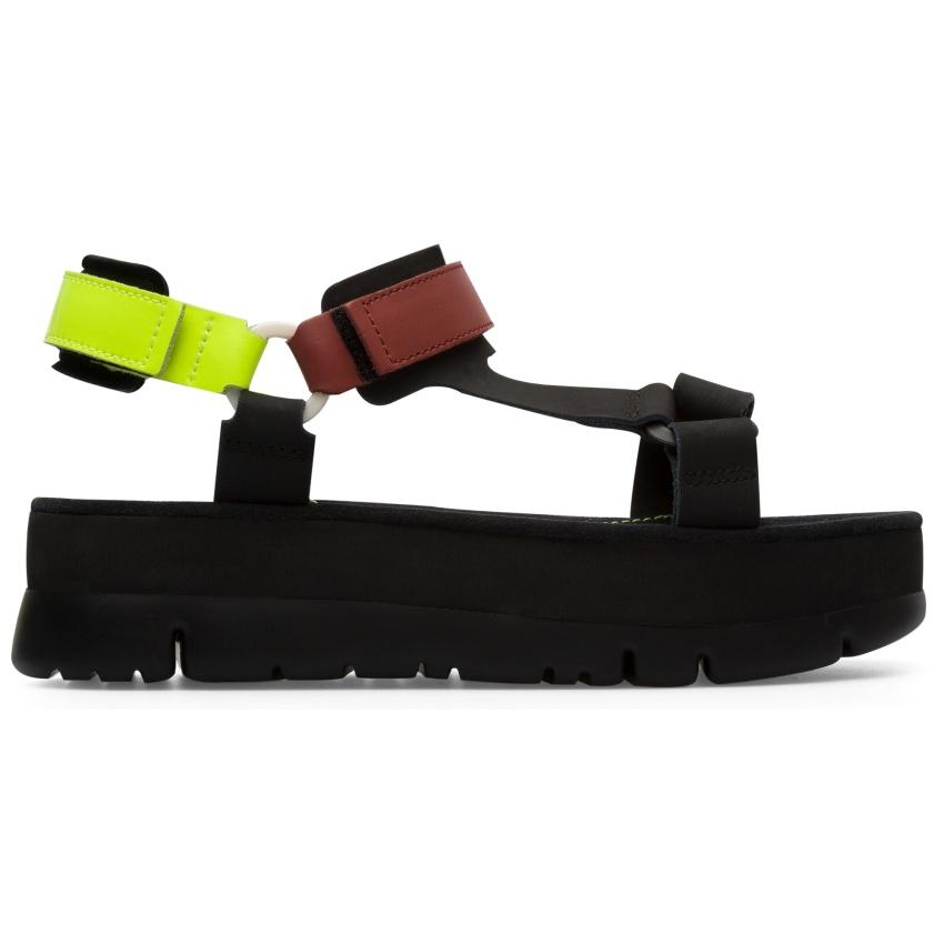 CAMPER彩色拼接Oruga Up涼鞋,NT$6,180。-3