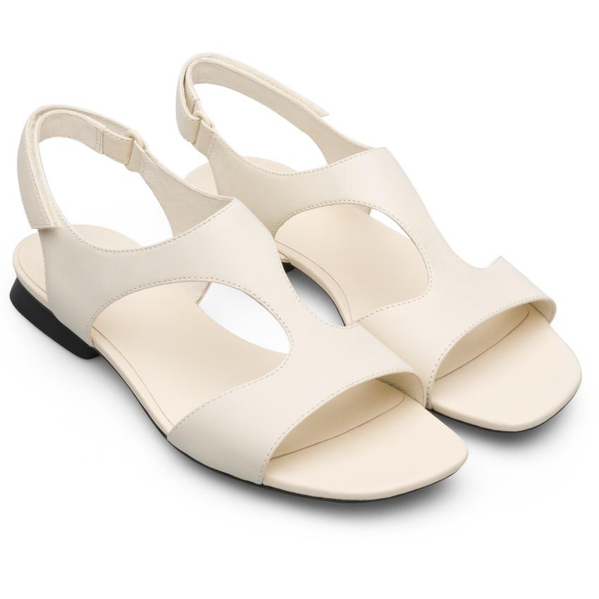 CAMPER白色Myra Sandal,NT$6,180。-2