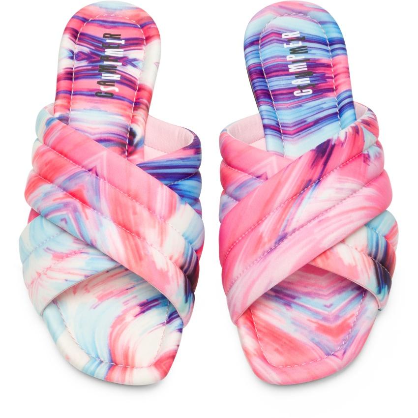 CAMPER粉彩色Myra Sandal,NT$5,180。-1