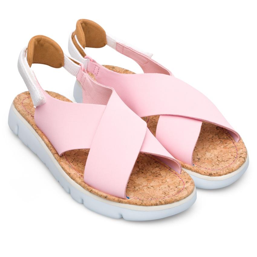 CAMPER粉紅色Oruga Sandal,NT$5,580。-2