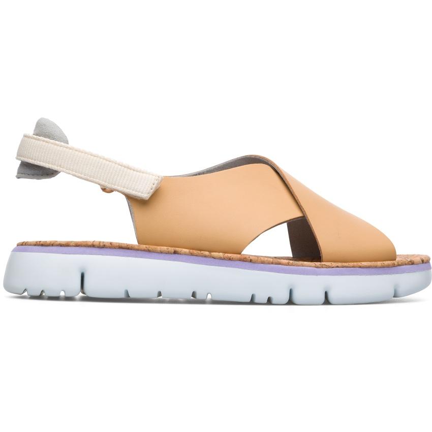 CAMPER駝色Oruga Sandal,NT$5,580。-3