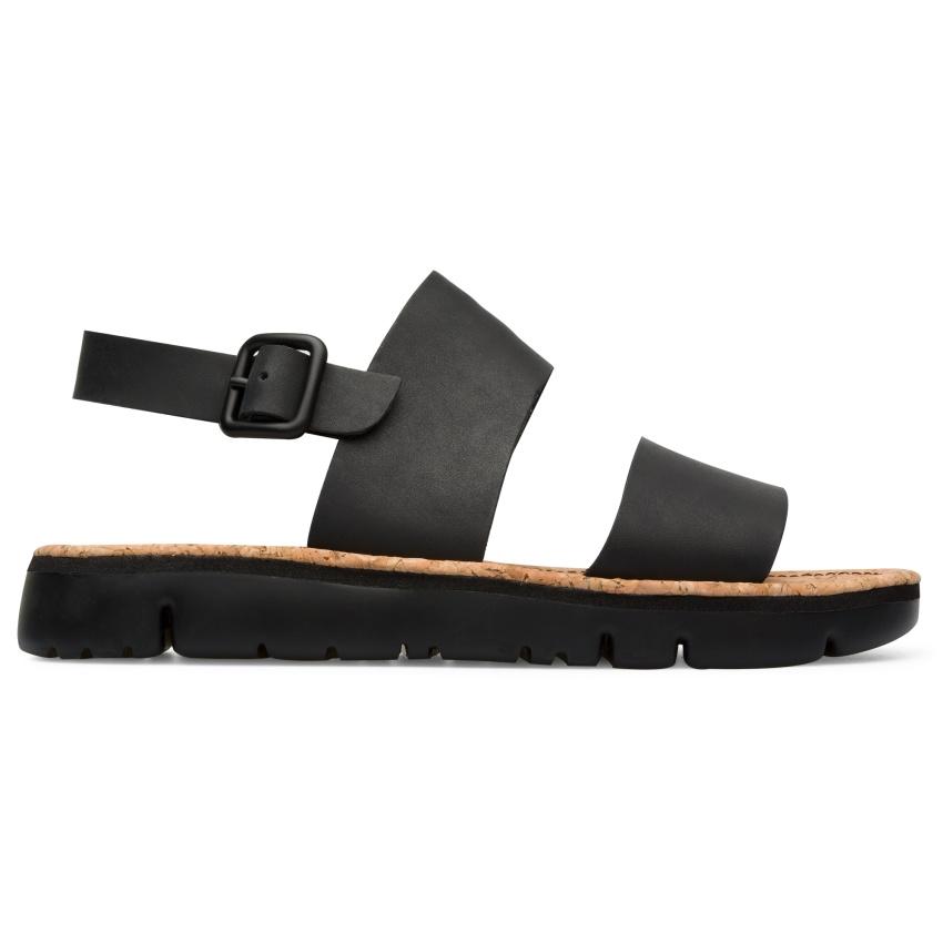 CAMPER黑色橫帶Oruga Sandal,NT$5,180-3