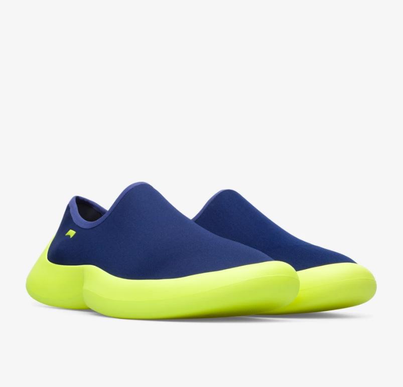 CAMPER ABS螢光黃鞋底襪套鞋,NT$7,680。(男鞋)-1