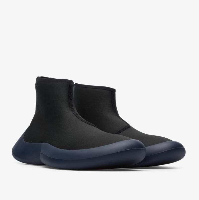CAMPER ABS黑色休閒中筒襪套靴,NT$8,880。(男鞋)-1