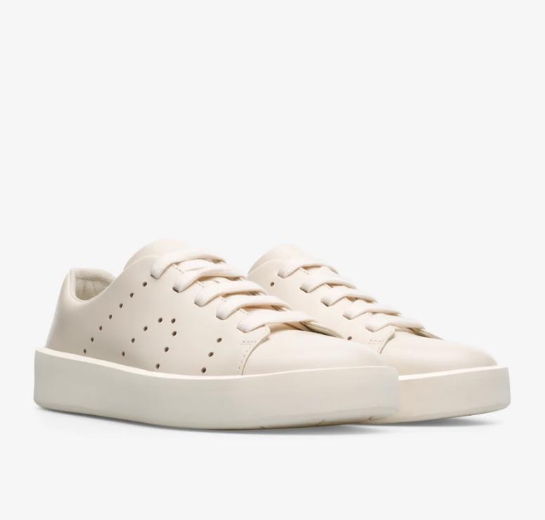 CAMPER Courb系列白鞋,NT$6,680。(女鞋)-1