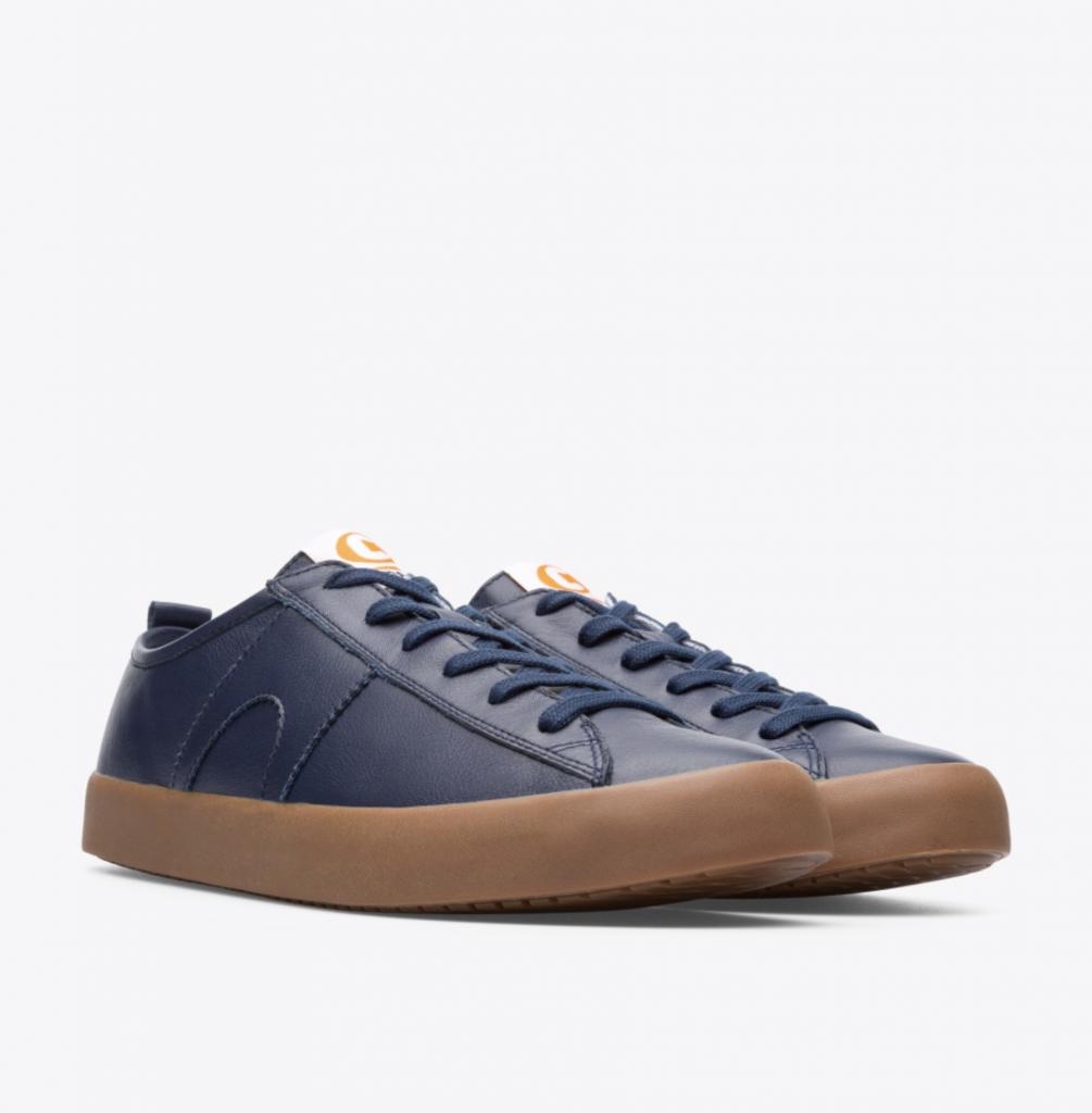 CAMPER Imar Copa深藍配咖啡色底休閒鞋,NT$5,580。(男鞋)-2