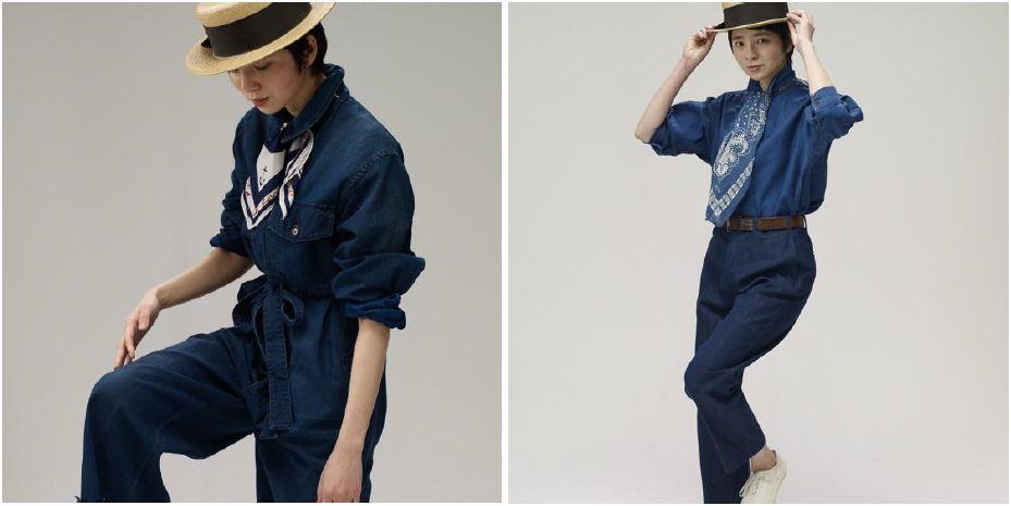 5R設計師-井上保美Yasumi的夏日Bandana穿搭提案。