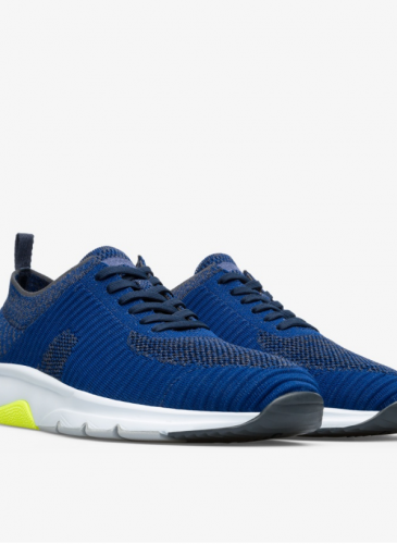 CAMPER Drift深藍色編織休閒鞋,NT$7,280。( 男鞋)-1