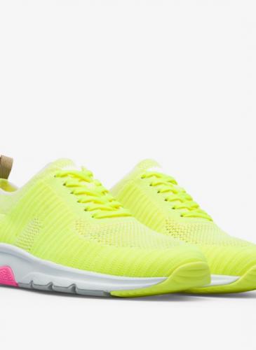 CAMPER Drift螢光黃色編織休閒鞋,NT$7,280。( 女鞋)-1