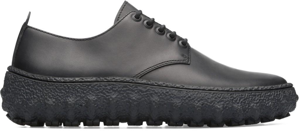 CAMPER Ground系列黑色厚膠底休閒鞋,NT$8,180。(男鞋)
