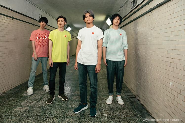 喜事集團E-Shop七月全新視覺形象『我世代,存在感』邀請青年樂團—「FORMOZA」擔當演出,充滿音樂正能量。-4