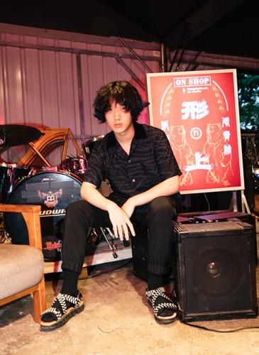 樂團「FORMOZA」鼓手Sunsays。