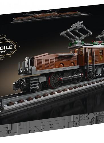 樂高「Level up想像力大作戰」華山場與遠百信義A13同步販售10277鱷魚火車頭,售價$3,499元