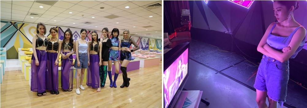 喜事集團營運長宋安日前參與《菱格世代DD52》節目錄影綵排,專注於發掘「我世代」女孩們獨特的個人魅力。