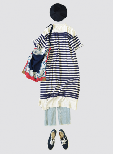 45R設計師-井上保美Yasumi的夏日穿著圖鑑