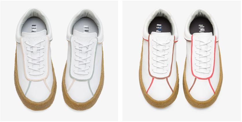 CAMPER Bark系列Twins休閒鞋