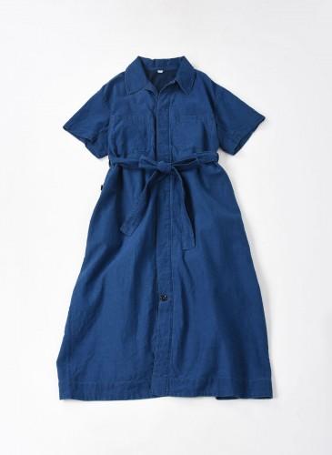 45R藍染連身裙
