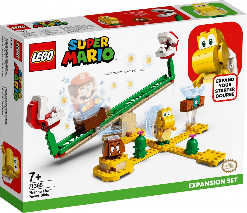 LEGO 71365 吞食花翹翹板