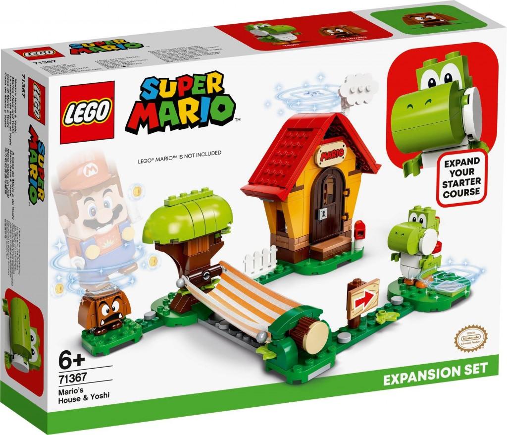 LEGO 71367 瑪利歐之家 & 耀西