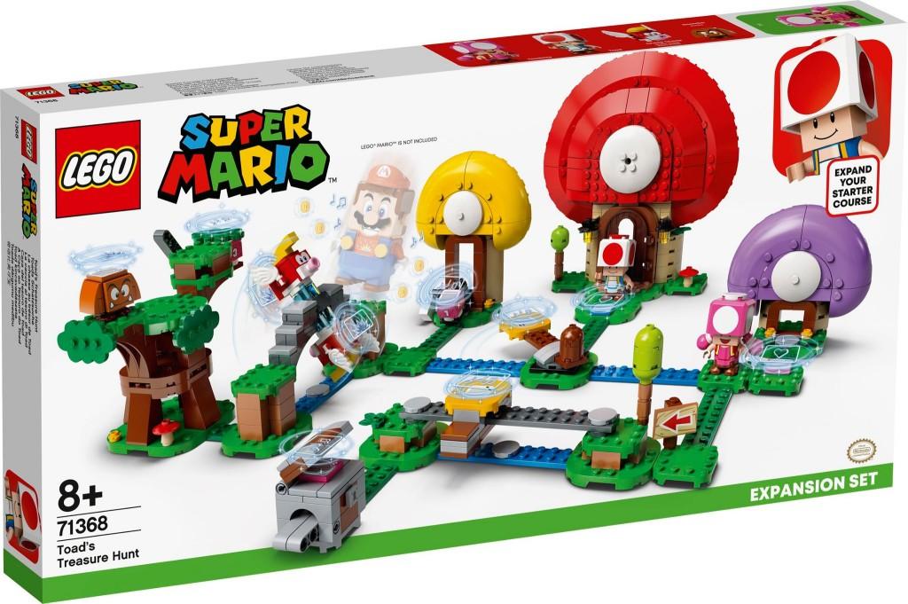 LEGO 71368 奇諾比奧的尋寶之旅