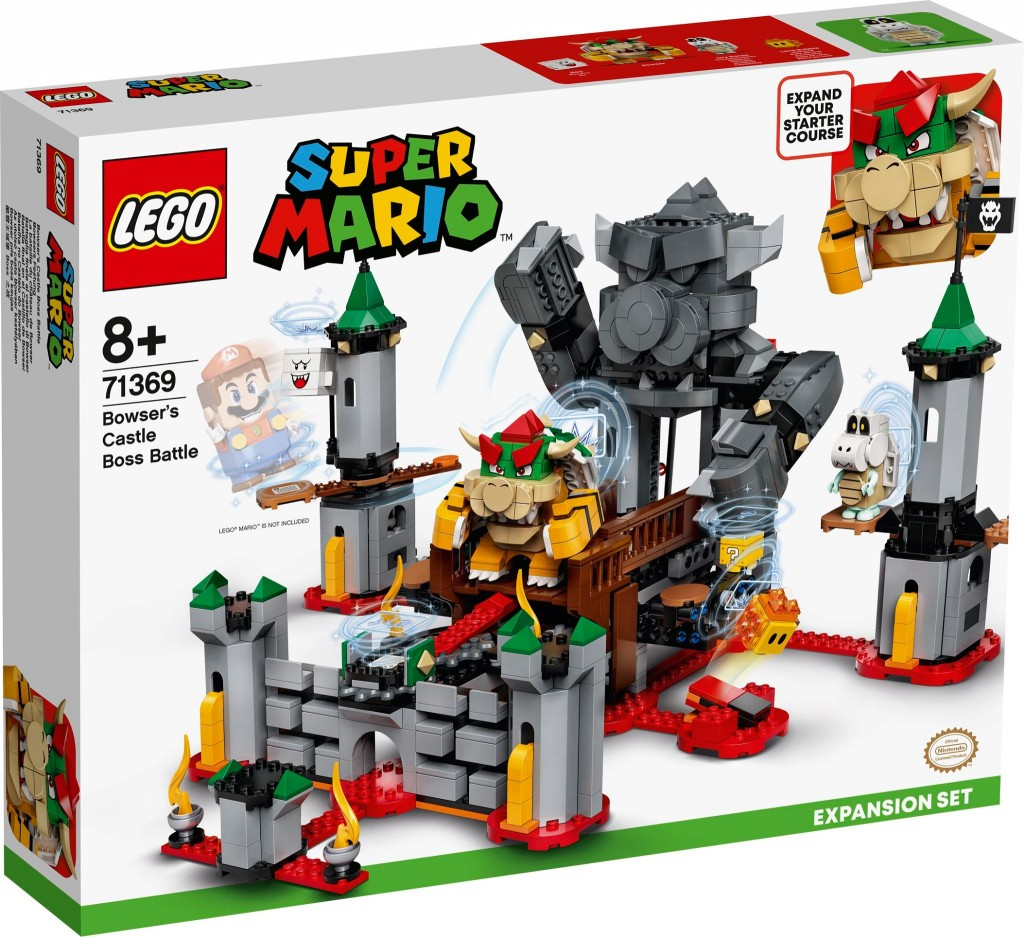 LEGO 71369 庫巴魔王的城堡對決